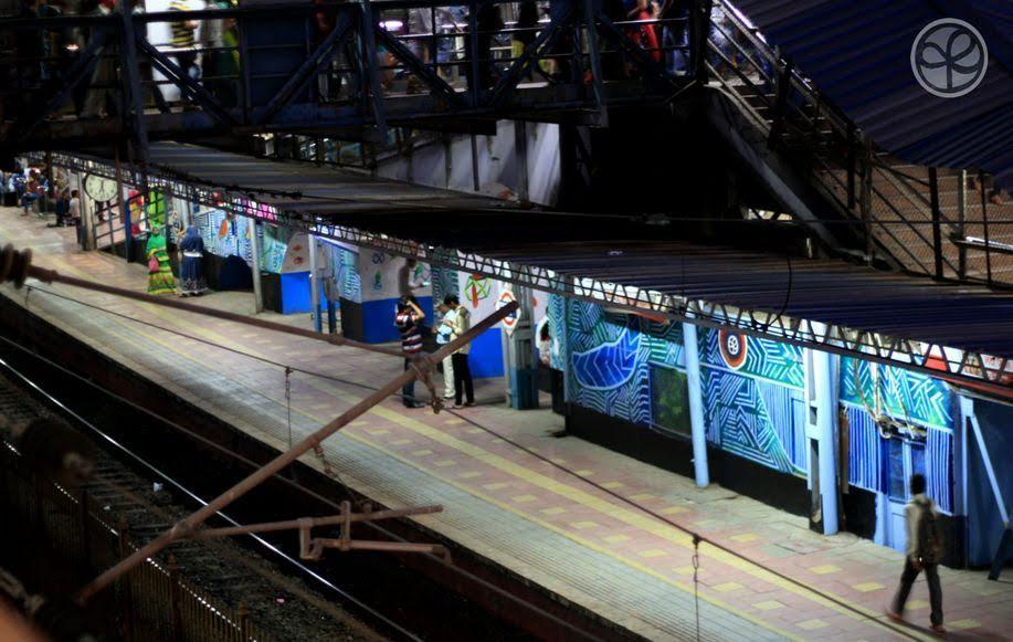 Mural series on platform 4