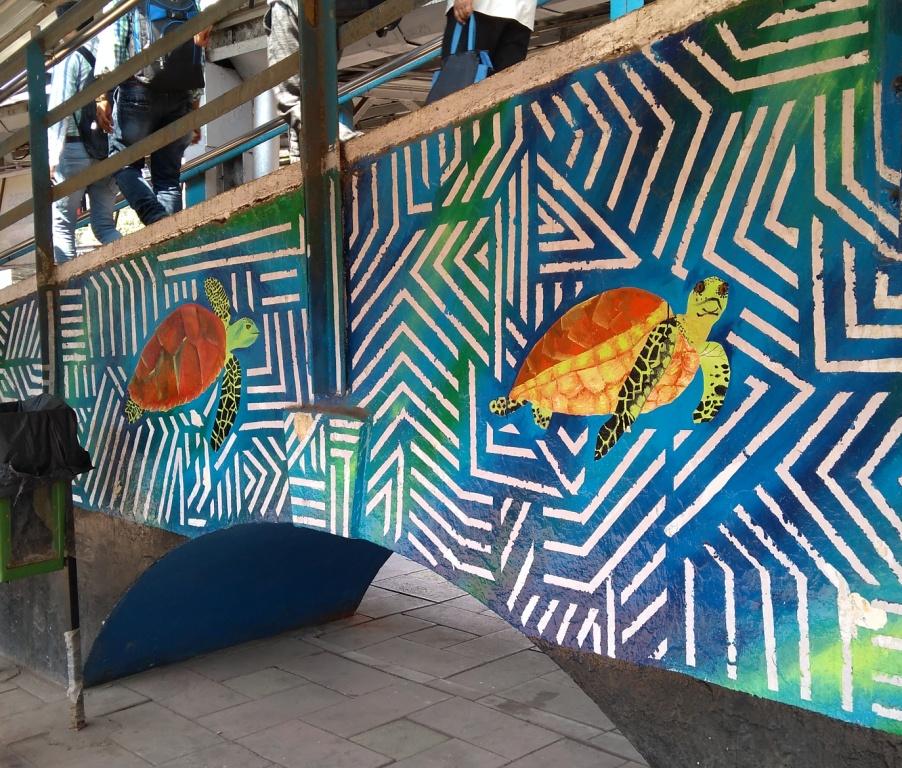 Sea Turtles Mural